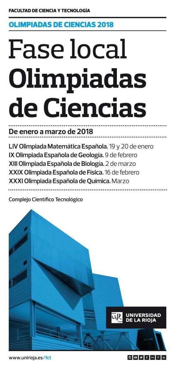 Olimpiadas de Ciencias 2018